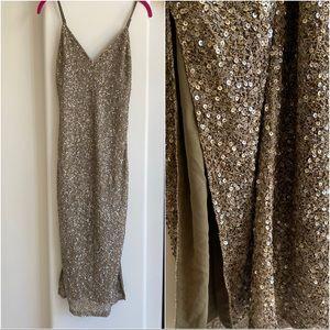 Alice & Olivia: Sequin Embellished Dress Sz: 2